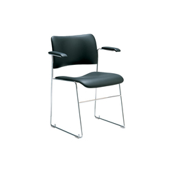 40/4 Armlehnstuhl gepolstert | Visitors chairs / Side chairs | HOWE