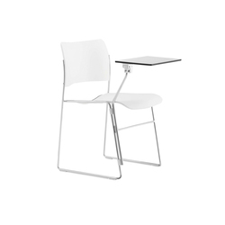 40/4 chair with writepad | Sillas | HOWE