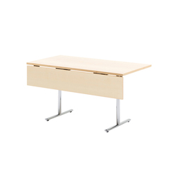Tempest table with modesty panel | Contract tables | HOWE