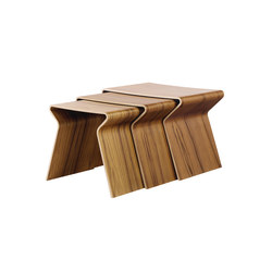 GJ Nesting Table | Mesas auxiliares | Lange Production