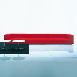 Wall modular sofa system | Canapés d'attente | Living Divani