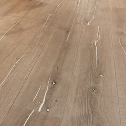 Coral OAK white brushed | white oil | Wood flooring | mafi