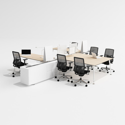 U too Quadro Desk | Systèmes de tables de bureau | Nurus