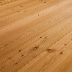 LARCH wide-plank brushed | natural oil | Wood flooring | mafi