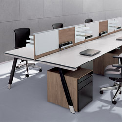 T-Workbench | Systèmes de tables de bureau | Bene