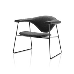 Masculo Sledge Lounge Chair | Loungesessel | GUBI