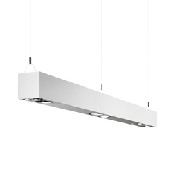 e01 square | Pendant strip lights | Elementi di Luceplan