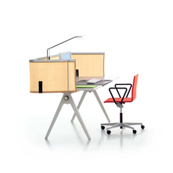 Joyn Single Desk | Tables de lecture | Vitra