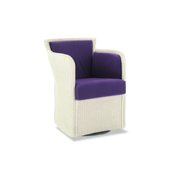Gypsy Twist Swivel Armchair | Fauteuils d'attente | Accente