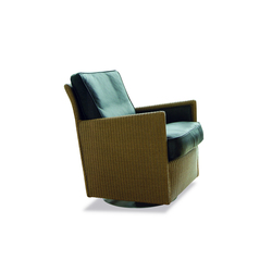 Loge Twist Swivel Armchair | Poltrone lounge | Accente