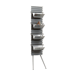 Metalwaves Wallstand | Mobilier d'habitation | Lourens Fisher