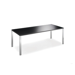 Slender Alucompact Black | Tables de repas | Lourens Fisher