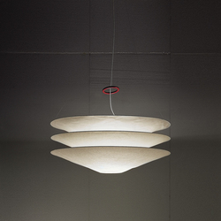 Floatation | Suspended lights | Ingo Maurer