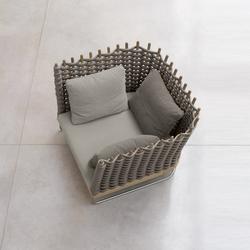 Wabi | Garden armchairs | Paola Lenti