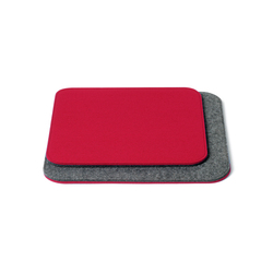 Cushion square with roundet corners, double | Coussins de siège | HEY-SIGN