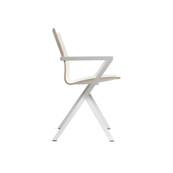 V Chair White | Chaises | Lourens Fisher