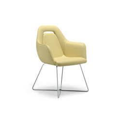 giroflex 757-7208 | Visitors chairs / Side chairs | giroflex