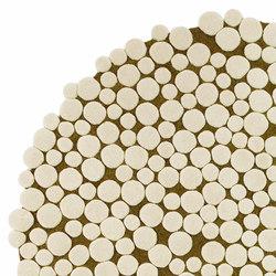 Champiñones Rug Circular 2 | Formatteppiche / Designerteppiche | GAN