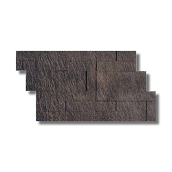 Arketipo Nero Modulo Fliese | Wandfliesen | Refin