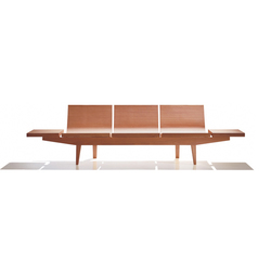Trienal BC 7004 | Beam / traverse seating | Andreu World