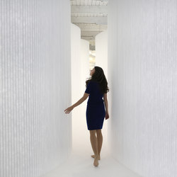 softwall | white textile | Space dividers | molo