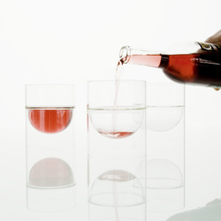 float glassware | red wine glasses | Weingläser | molo