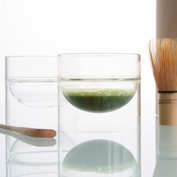 float glassware | matcha bowl | Bowls | molo