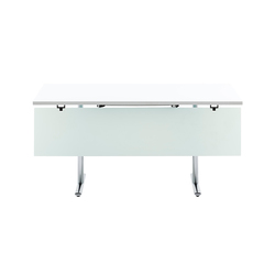Tempest table with modesty panel | Tavoli contract | HOWE