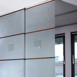 Perforation | Trennwandsysteme Büro | Wood & Washi