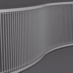 MEINERTZ Vertical Rolling Grilles | Convector gratings | MEINERTZ