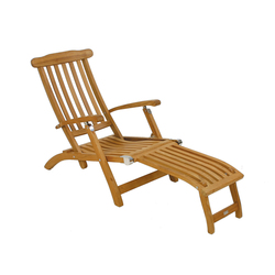 Flores steamer chair | Sun loungers | Fischer Möbel