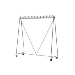 Ellipse wheeled clothes stand | Wardrobes | Segis