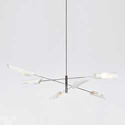 Torroja Cross Chandelier No 425 | Allgemeinbeleuchtung | David Weeks Studio