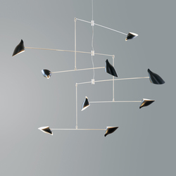 Hanging Mobile No 405 | Suspended lights | David Weeks Studio