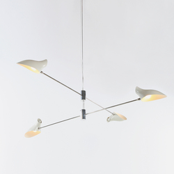 Cross Cable No 407 | Suspended lights | David Weeks Studio