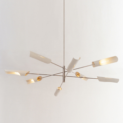 Torroja Cross No 425 | Suspended lights | David Weeks Studio