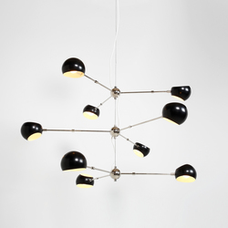 Tri Boi Chandelier No 418 | Suspensions | David Weeks Studio
