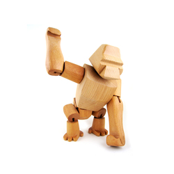Hanno the Wooden Gorilla | Kinderspielzeug | David Weeks Studio