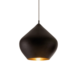 Beat Stout Pendant Black | Suspensions | Tom Dixon
