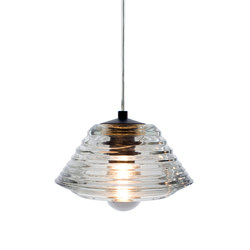 Pressed Glass Bowl Pendant | General lighting | Tom Dixon