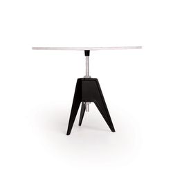 Screw Table Large Round | Cafeteriatische | Tom Dixon