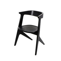 Slab Chair Black | Chaises de restaurant | Tom Dixon