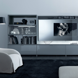 Cartesia home video | Wall storage systems | Rimadesio