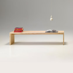 solid wood bench | Panche attesa | performa
