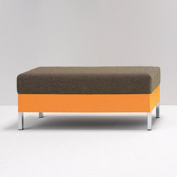 cushion bench | Poufs | performa