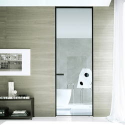 Vela | Glass room doors | Rimadesio