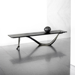 Leda Low Table Black Label | Tavolini salotto | BD Barcelona