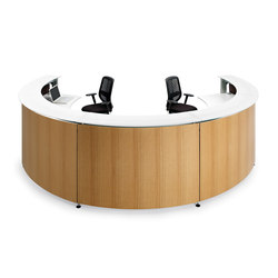 Informa Plywood | Reception desks | actiu