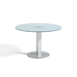 Circular base table | Cafeteria tables | actiu