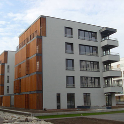 Apartments Wilanowska Warsaw | Facade design | Rieder